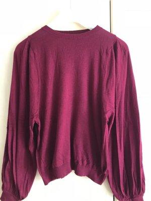 MANGO | ungetragener schöner Pullover in Weinrot
