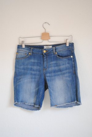 Mango Used Look Jeans-Shorts, 36