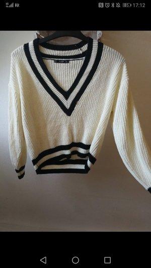 Mango V-Neck Sweater multicolored