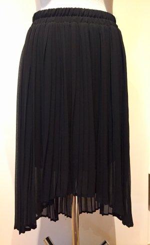 Mango casual Jupe plissée noir