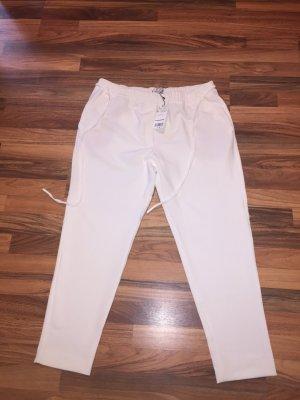 Mango weiße Hose XL m Elasthan NEU mit Etikett sommerliche Impressionen