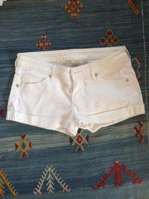 Mango weiße Jeansshorts