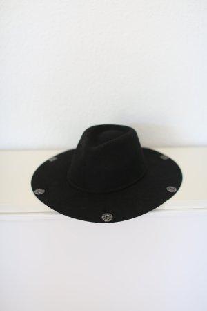 Mango Cappello da cowboy nero