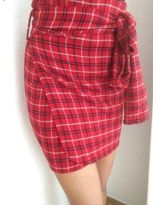 Mango Wraparound Skirt multicolored