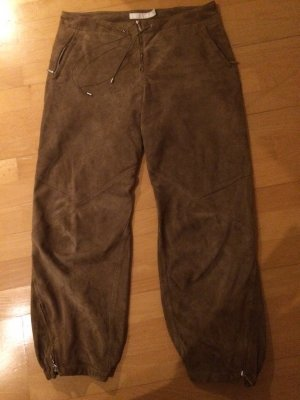 Mango Wildlederhose Jogging Look - Gr. S oder 36. TOP