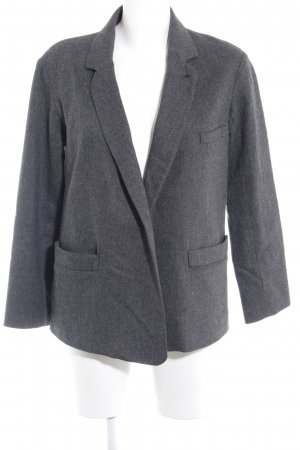 Mango Woll-Blazer anthrazit Business-Look