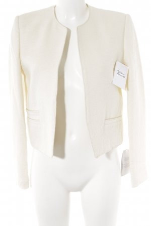 Mango Wool Blazer natural white business style