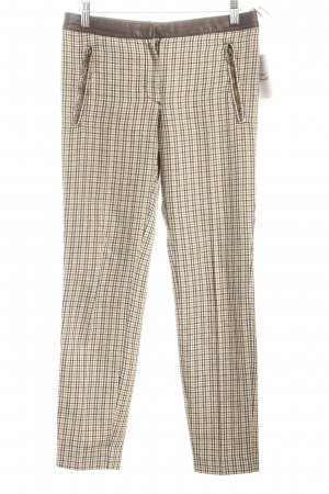 Mango Woolen Trousers check pattern casual look