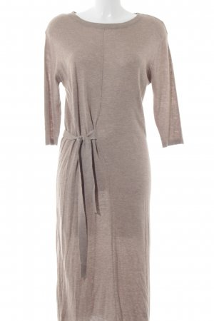 Mango Wollkleid beige Casual-Look