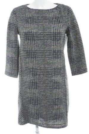 Mango Vestido de lana estampado a cuadros look casual