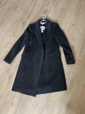 Mango Cappotto in lana grigio chiaro