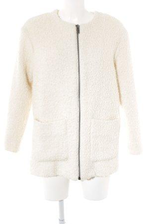 Mango Wool Coat natural white casual look