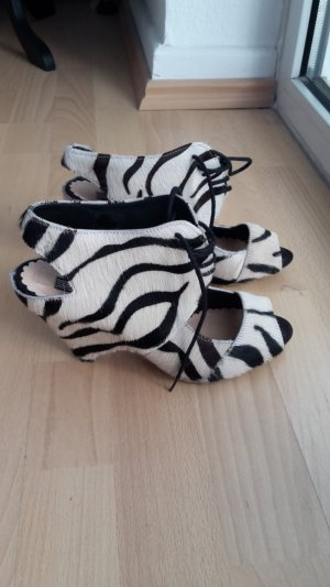 Mango Zebra Lederschuhe