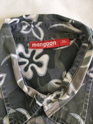 Mangoon – Kurzarm-Hemd mit deszentem Blumen-Muster