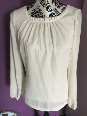 Manguun Bluse weiß 34