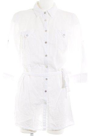Manguun Blusenkleid wollweiß Casual-Look