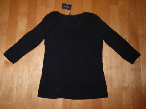 Manguun Collection 3/4-Arm Shirt 40 schwarz Viskose Neu m.Etikett