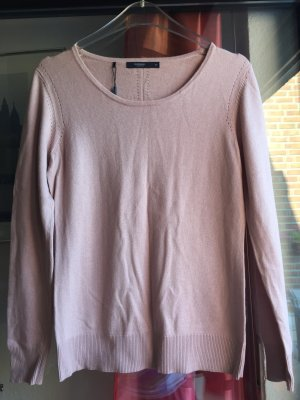 Manguun Collection Feinstrick Pullover hellrosa pastell-rose rose 40 Neu