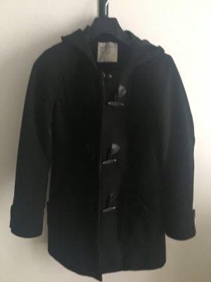 Manguun Duffle Coat Mantel schwarz