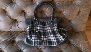 Manguun Handbag white-black