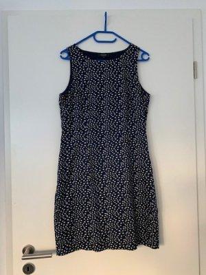 Manguun Kleid blau mit weißen Punkten GR. 38/40 wie neu