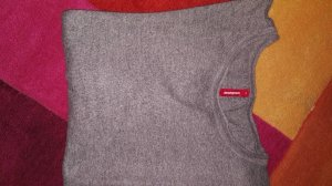 Manguun M pullover grau