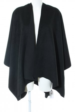 Manguun Poncho black casual look