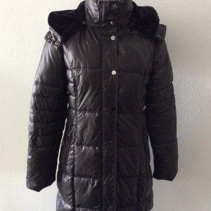 Manguun Quilted Coat black