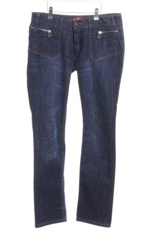 Manguun Straight-Leg Jeans blau Casual-Look