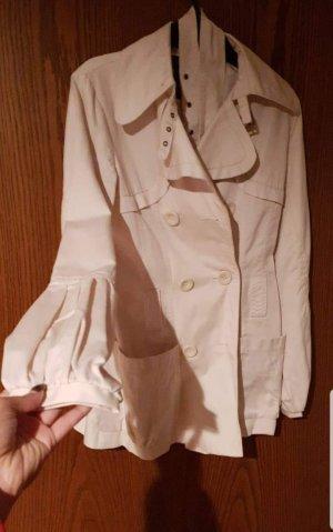 manguun trenchcoat beige ballonarm gürtel