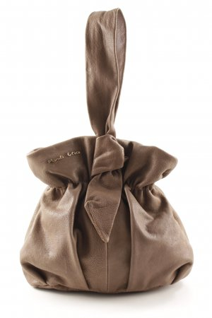 Manila Grace Bowling Bag beige casual look