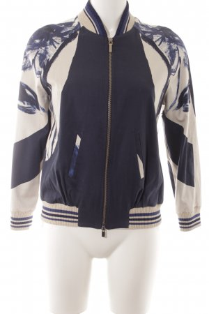 Manila Grace College Jacket abstract pattern athletic style