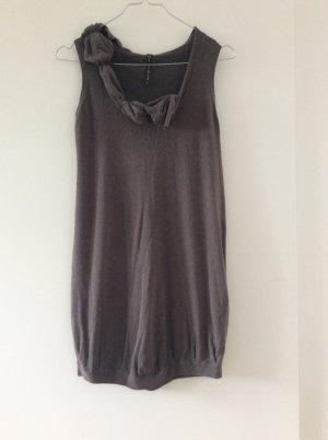 Manila Grace Abito maglione marrone scuro