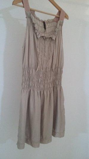 Manila Grace Seidenkleid Kleid Seide nude rose rosa beige