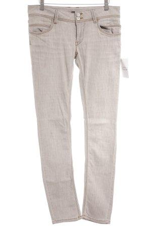 Manila Grace Slim Jeans graubraun Casual-Look