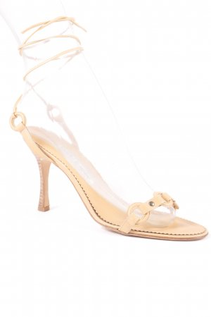 Manolo Blahnik High Heel Sandaletten nude Beach-Look