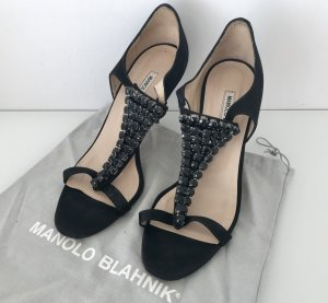 Manolo Blahnik Scarpa nero