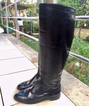 Manolo Blahnik Botas con tacón negro