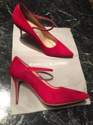 Manolo Blahnik rot NEU!!!