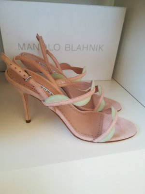Manolo Blahnik High Heel Sandal pink
