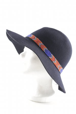 Manoush Cappello di lana multicolore stile stravagante