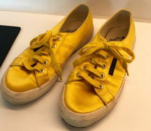 MANREPELLER X Superga Yellow Sneakers