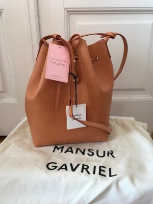 Mansur Gavriel Bucket Bag (Camello)