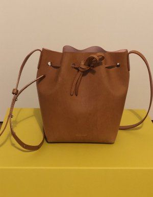 Mansur Gavriel Leather Bucket crossbody bag