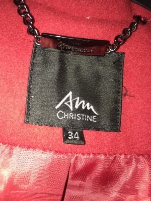 Ann Christine Coat red