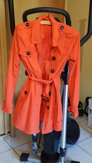 Long Jacket neon orange