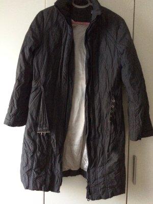 Manteau matelassé gris-gris anthracite