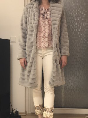 Accessorize Winter Coat grey synthetic material