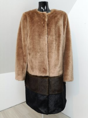 Judith Williams I love Milano Fleece jas donkerbruin-camel