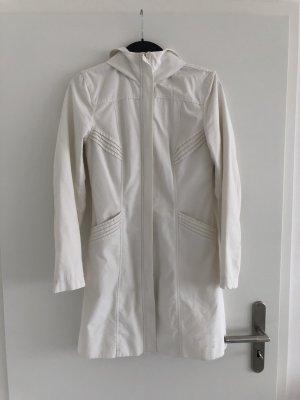 H&M Divided Cappotto con cappuccio bianco sporco